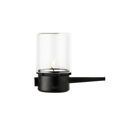 Pipe Hurricane Horizontal Candle Holder - 4 Pack