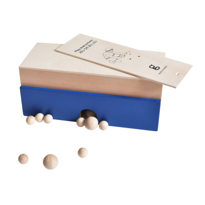 Play Everywhere Nomad Marbles Game Blue