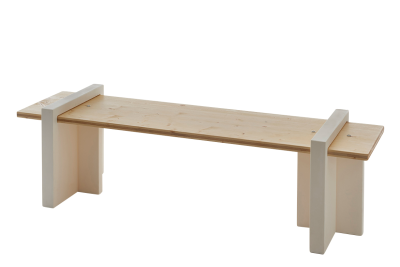 Play Wood Garden Bench