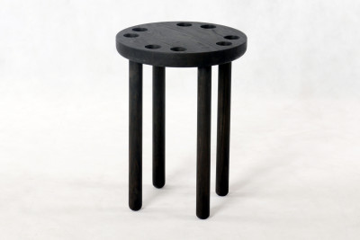 Poke Stool Black
