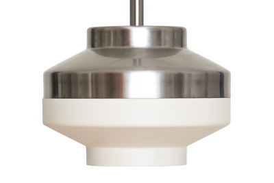 Pran Pendant Light 200 White & Silver