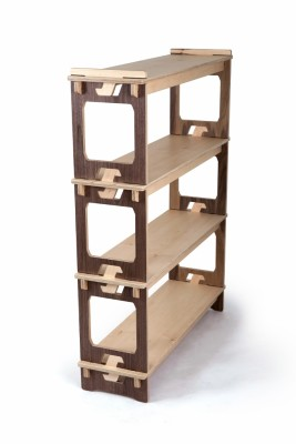 Prima Display Unit Maple Shelves and Sides