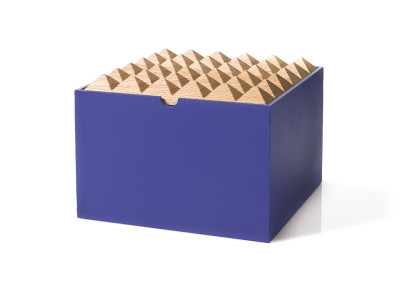 Pyramid Boxes Extra Large Dark Blue