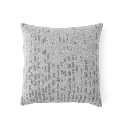 Rain Cushion Wool, Grey