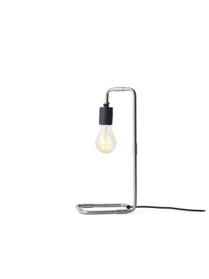 Reade Table Lamp Brushed Steel