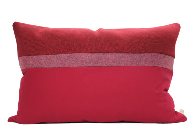 Rectangular Cushion Cover, Red
