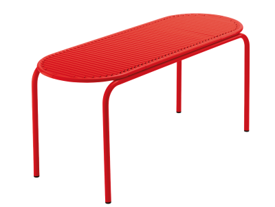 Roll Bench Red