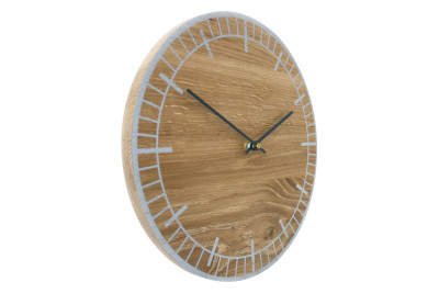 S2 Wall Clock Grey with Grey Hands
