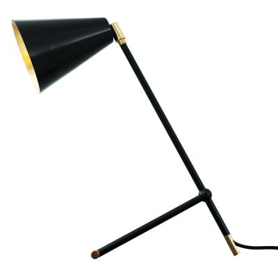 Santa Clara Modern Industrial Table Lamp Matte Black