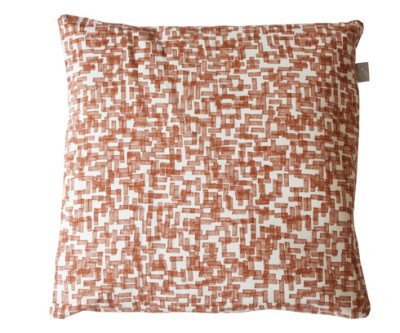 Schemer Cushion Cover Brown