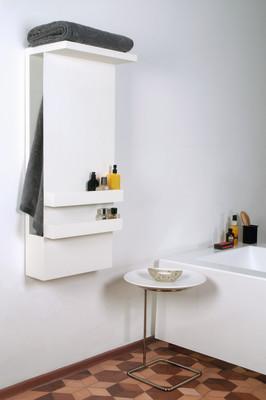 Shelf Towel Warmer White