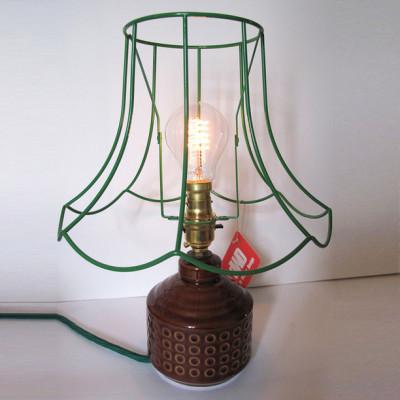 Skeleton Table Lamp Black