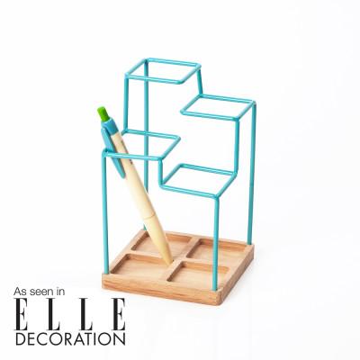 Sketch Desk Tidy Blue