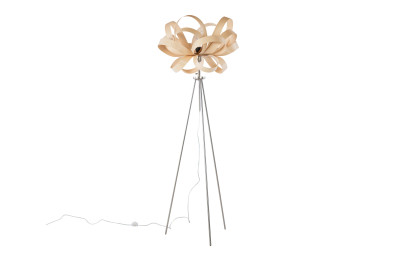 Skipper Metal Stand Floor Lamp Ash