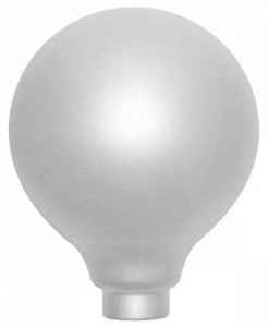 Soft 95mm Globe Halogen Adaptor Bulb BC