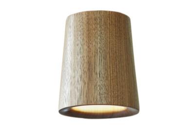 Solid Cone Downlight Walnut