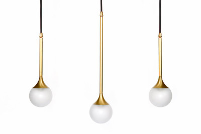Solo 3 Suspension Light Brass