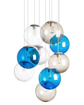 Spheremaker Assorti 9 Blue-Transparent-Grey