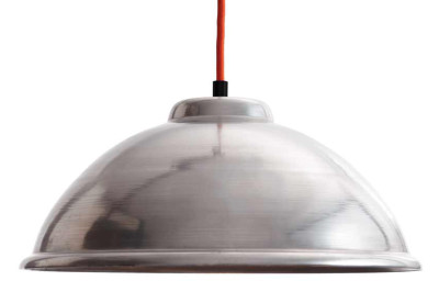 ST005  Industrial Pendant Light Red Cable