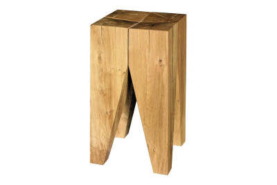 ST04 Backenzahn Side Table/Stool Oiled Oak