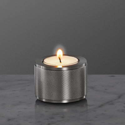 Stacked Candle Holder 1.0 Smoked Bronze, Medium