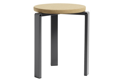 Stanley Stool Dark Grey