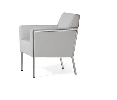 Steel American Konferenz Chair A4500 - Art.48045 - 206 beige, Oxidored Base