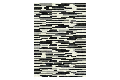 Stepped Monotone Rug