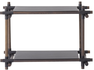 Stick System Shelving, 1x2 Black