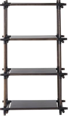 Stick System Shelving, 1x4 Grey