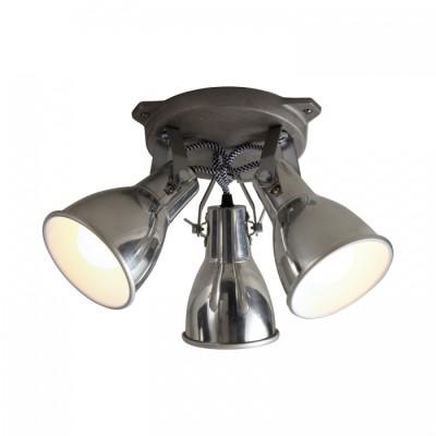 Stirrup Triple Ceiling Light Aluminium