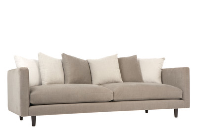 Studio 4 Seater Sofa Grey