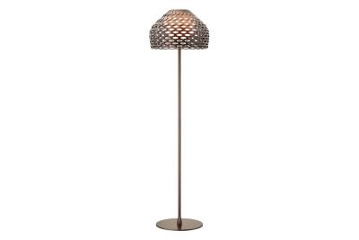 Tatou F Floor Lamp Ochre-grey