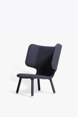 Tembo Lounge Chair Main Line Plus, Charcoal