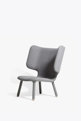 Tembo Lounge Chair Uniform Melange, Ash