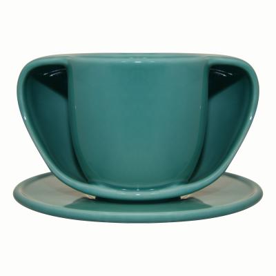 ToastyMUG with Saucer Turquoise