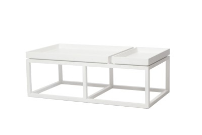 Tray Coffee Table White