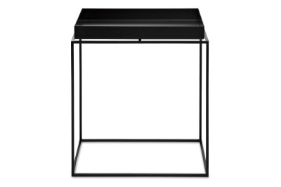 Tray Square Side Table Black, Large