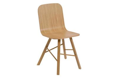 Tria Simple Chair Oak