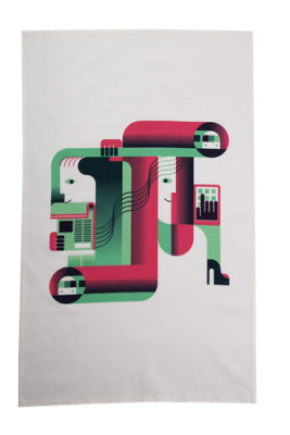 Tube Tea Towel