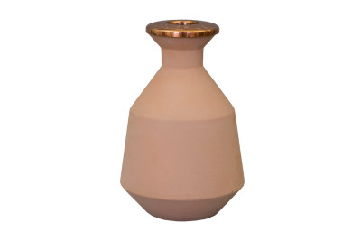 Tunisia Made Short Vase Copper