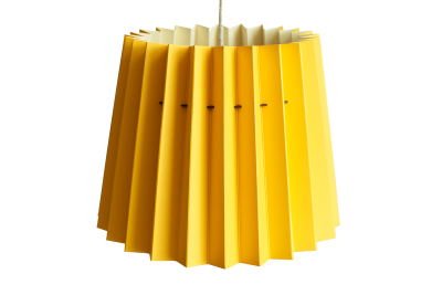 Twin Tone Lampshade Warm Yellow & China White