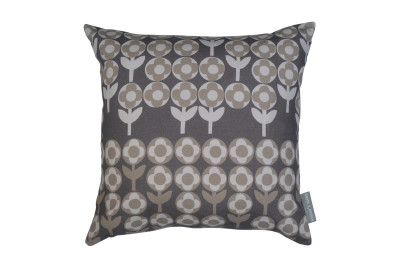 Verdure Cushion Peppercorn