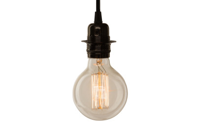 Vintage Large Globe Light Bulb