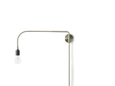 Warren Wall Light Brushed Steel