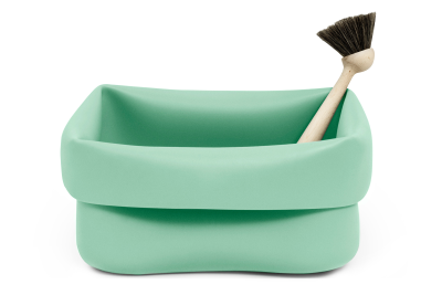 Washing-up Bowl & Brush Mint
