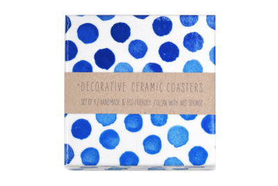 Watercolour Dots Coasters