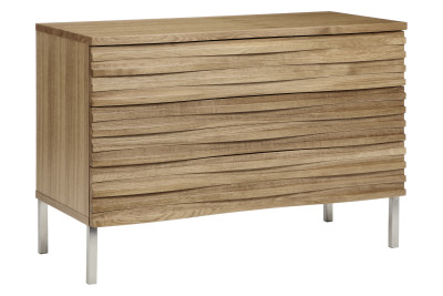 Wave 3 Drawer Chest Oak