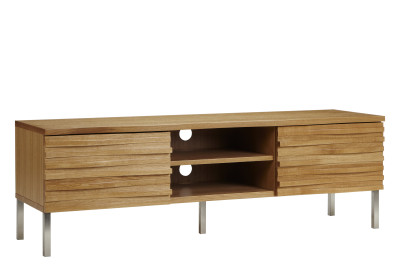 Wave Media Unit Oak