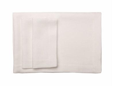 White table linens table runner 40x120cm